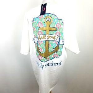NWT Simply Southern shirt, sz XL
